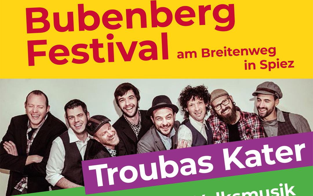 1. Bubenberg-Festival zum 20. Geburtstag!