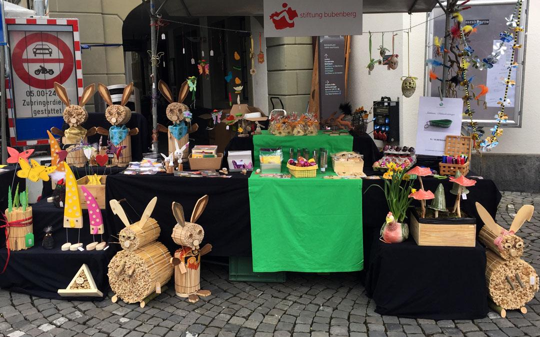 Stimmungsvoller Thuner Ostermarkt vom 17. März