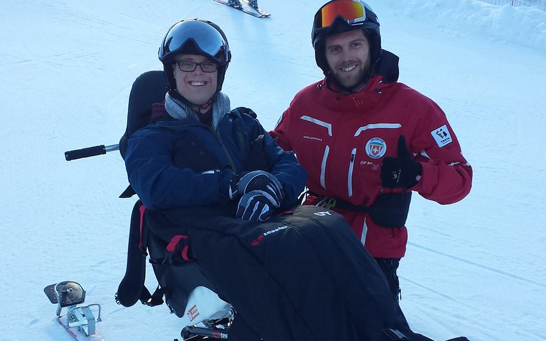 Heja! Wir gehen Skifahren! :-)